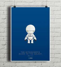 plakaty-Marvin - Autostopem Przez Galaktykę - plakat