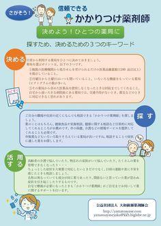 「大和綾瀬薬剤師会」啓発リーフレット A4両面【裏面】 2016年10月