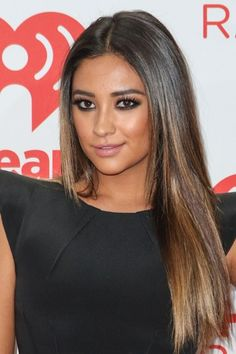 Balayage On Straight Hair | shay mitchell does straight and sexy