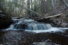 Go Waterfalls New Brunswick: Corbett Brook Falls