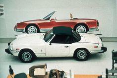 OG | 1989 Mazda Miata / MX-5 | Design inspiration Triumph Spitfire, British Sports Cars, Mazda Miata, Car Car, Design Inspiration, Bike, Lotus, Trucks, Japan