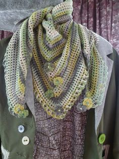 Anne's Crochet Palace: Road Trip scarf
