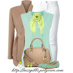 """""""Lime & Mint"""" by mssgibbs on Polyvore"""