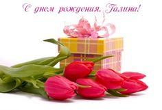 С Днем рождения, Галина