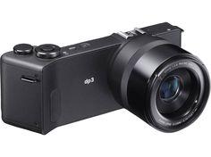 SIGMA DP3 Quattro Kompaktkamera Schwarz, 29 Megapixel, TFT-Farb-LCD