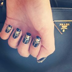 perfectlyflawed23's photo on Instagram - Great Gatsby Nails