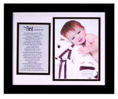 The Grandparent Gift Co. Photo Frame, First Grandchild by The Grandparent Gift Co.. $27.99. The first grandchild changes so many lives- daughters and sons become parents and mothers and fathers become grandparents! Celebrate and acknowledge this life milestone with The First Grandchild photo frame and sentiment. A beautiful sentiment written by author, Teri Harrison is printed on vellum, presented in a double mat and framed in an 8x10 black frame for wall or tabletop display. T...