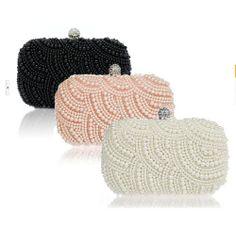 ASHIA Luxus Krone Damen Tasche Perle Clutch Schlicht und Elegant Beads Abendtasche Handtasche 2 in 1 Tragbar als HAND -3 farben (Weiß) ASHIA http://www.amazon.de/dp/B00KIGHUR2/ref=cm_sw_r_pi_dp_18iPtb1JATYWGPT0