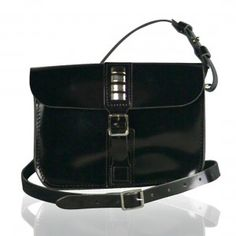 Wear 3 ways; as a clutch bag, on the wrist or over the shoulder/across the body Equis 3 Way Clutch - Patent black Real Leather, Black Leather, Clutch Bag, Oscars, How To Wear, Bags, Accessories, Shoulder, Fashion