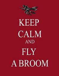 fly a broom