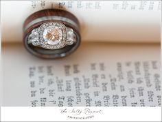 Vintage inspired wedding ring The Salty Peanut Photography LLC www.thesaltypeanut.com