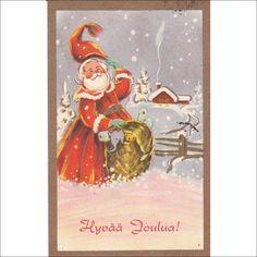 Irma Salmi. Joulupukki ja lahjakontti, -1954