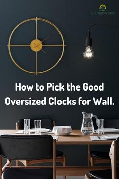When dealing with living room decoration, different items can be used. Oversized Clock for Wall are one of them. In any case, a beautiful clock can have a significant effect to basically every inside living space over your home. How to decor a wall, How to pick oversized clocks for wall, Modern Wall Clock, Oversized wall clock, Wall decor, Interior Decor, Living Room decor, Bedroom decor, Oversized clock for wall, Fancy wall clock! #wallclock #decor #walldecor #livingroomdecor #thefancyplace Living Room Modern, Modern Wall, Living Room Decor, Living Spaces, Bedroom Decor, Wall Decor, Best Wall Clocks, Clock Wall, Extra Large Wall Clock