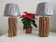 Design wood lamps by HolzWoodLemn on Etsy Wood Lamps, Wood Design, Trending Outfits, Unique Jewelry, Handmade Gifts, Etsy, Vintage, Home Decor, Driftwood Lamp
