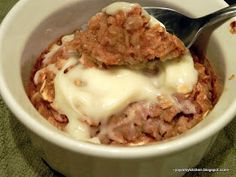 Finding Joy in My Kitchen: Cinnamon Roll Baked Oatmeal Cups