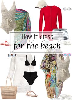 How to dress for the beach | 40plusstyle.com