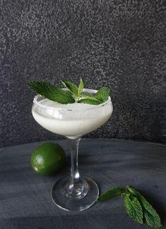 The Design Confidential and The Art of Patrón Coconut Mint Margarita Recipe