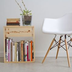 Une table d'appoint homemade