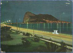 """317 """"LA LÍNEA DE LA CONCEPCIÓN. El Peñón de Gibraltar - Nocturna"""""""