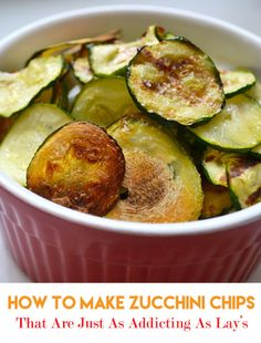 How to Make Healthy Zucchini Chips