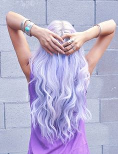 light purple hair | Tumblr