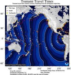 Reflexos sísmicos do tremor no Equador