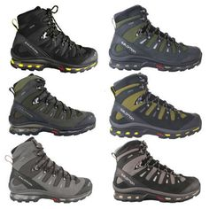 Salomon Quest 4D GTX MEN'S Hiking Boots Trekking Shoes Hiking Boots Waterproof | eBay