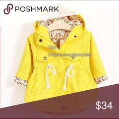 Kids sunny days jacket New jacket for kids all ages. Small-XXL Jackets & Coats
