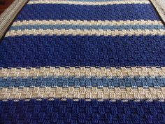 Ravelry: Basketweave Throw #chs-bafg pattern by Lion Brand Yarn