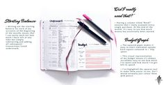 Tracking Finances With Your Bullet Journal · SemiSkimmedMin