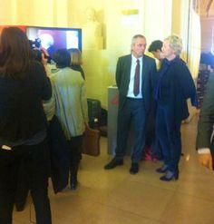 """Merci à l'@Inria â son president Antoine Petit aux chercheurs pour leur participation â cette """" journée numérique"""" !"""