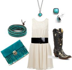 """""""classy cowgirl"""" by lilkosy on Polyvore"""
