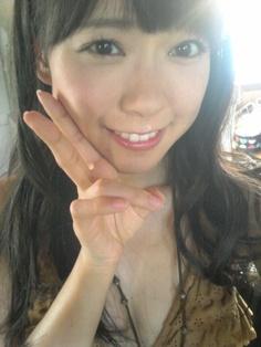 NMB48オフィシャルブログ:  みるきー(。・ω・。) http://ameblo.jp/nmb48/entry-11348934935.html#main