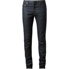 DIOR HOMME (3.015 BRL) ❤ liked on Polyvore featuring men, pants, menswear, jeans, men's pants, five pocket pants, christian dior, 5 pocket pants and indigo pants