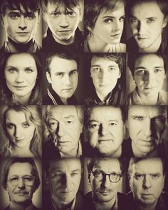 Harry Potter Cast <3 love the books and the movies!