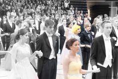 #Yellow #Focus #vanhojentanssit Windmill, One Shoulder Wedding Dress, Yellow, Wedding Dresses, Photos, Fashion, Bride Dresses, Moda, Bridal Gowns