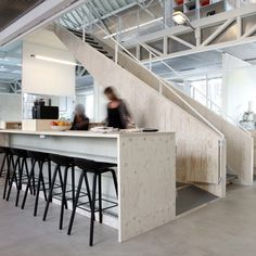 Ateliers transforms old technology museum in Delft into flexible open-plan office