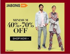904acbcb Jabong Coupons: 38 Best Offers and Promo Codes June 2019. Brand SaleFashion  ...