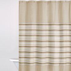 DKNY Sahara Cappuccino 72' x 72' Fabric Shower Curtain - Bed Bath & Beyond