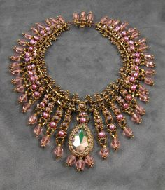 Saraswati Necklace Downloadable PDF Pattern by Melissa Grakowsky Shippee