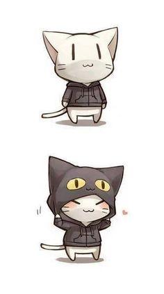 Cat Hoodie !