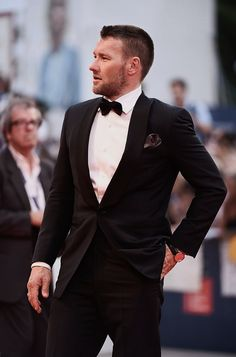 "Joel Edgerton Miscellany (& a little Dash of Nash), ""Every now and then I have to kinda put on a suit, and I grumble about that, but when I do, I actually like it. I quite like it. I like wearing this tuxedo. I think it's cool."" – Joel Edgerton"