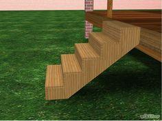 How to build porch steps
