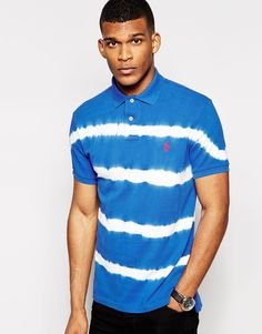 Polo Ralph Lauren Polo Shirt with Tie Dye Regular Fit