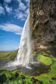 Amazing View of Seljalandsfoss, Iceland
