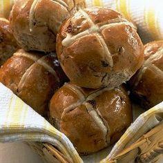 Easter Hot Cross Buns (Breadmaker)