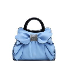 Women's Tote with Large Bow Front