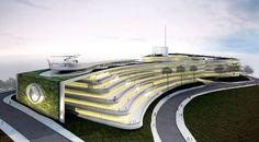 Gustavo Penna Arquiteto e Associados: Emissora de tevê, São Paulo - ARCOWEB