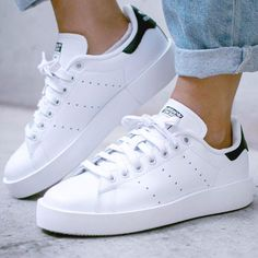 huge selection of 3db0c 28f81  TRENDINSPO  adidas Stan Smith Bold Adidas Sneakers, Adidas Shoes Women, Shoes  Sneakers