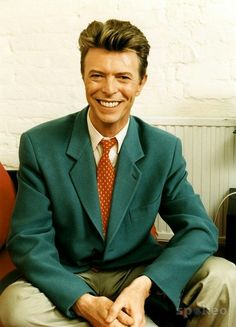 David Bowie in 1993 A smile that lights up the World